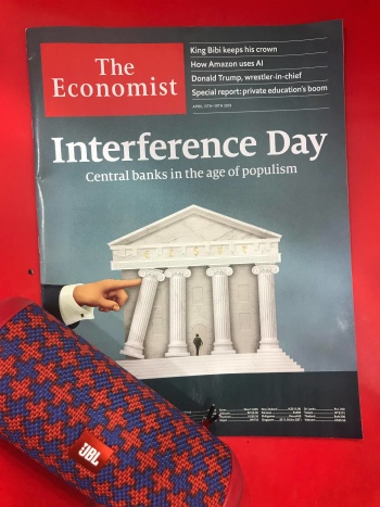 [READING - THE ECONOMIST] VOL.19: INTERFERENCE DAY