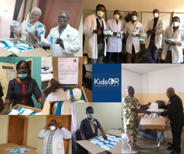 KidsOR delivering vital PPE to surgeons across Africa