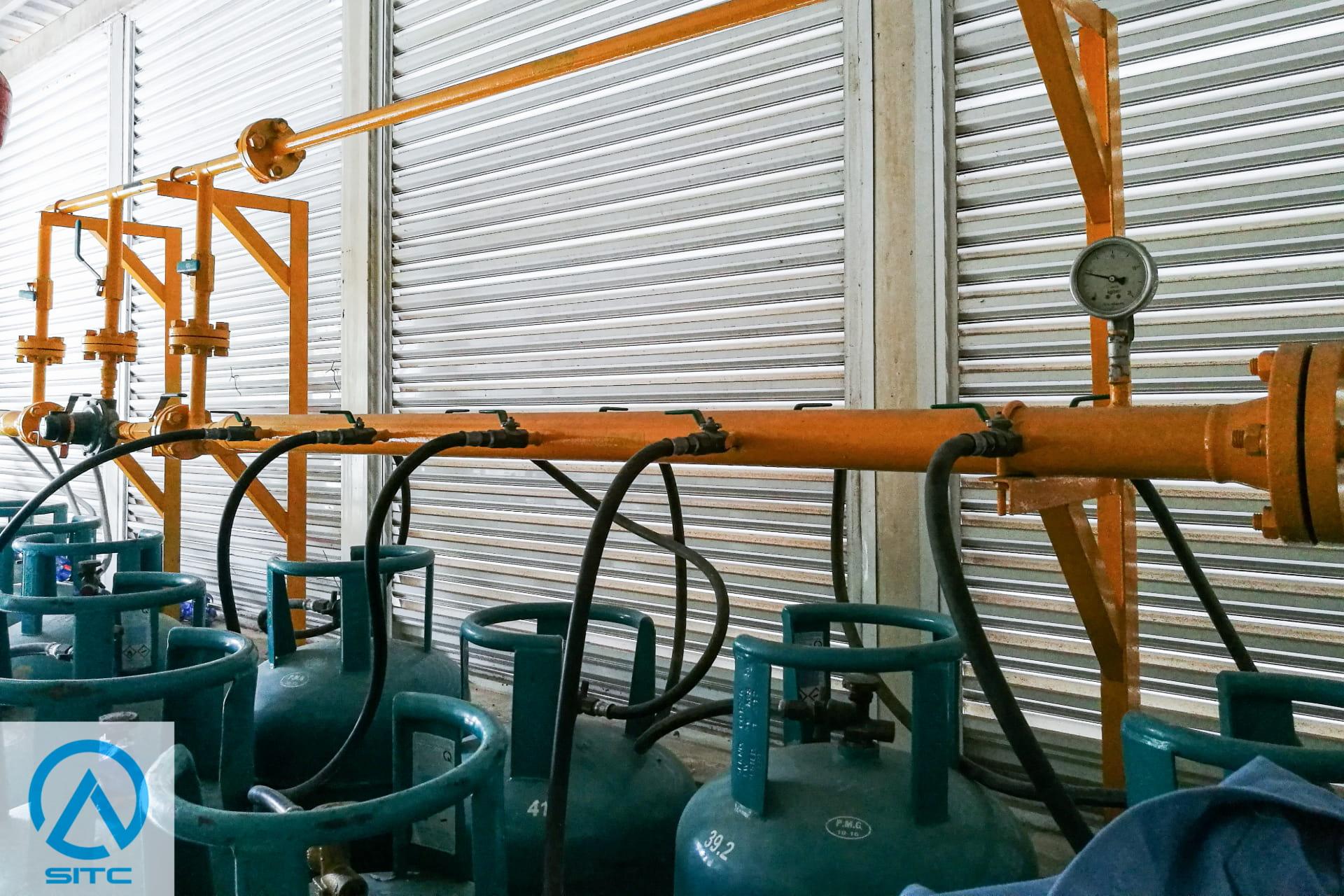 hệ thống gas công nghiệp - trạm cấp gas chúng cư