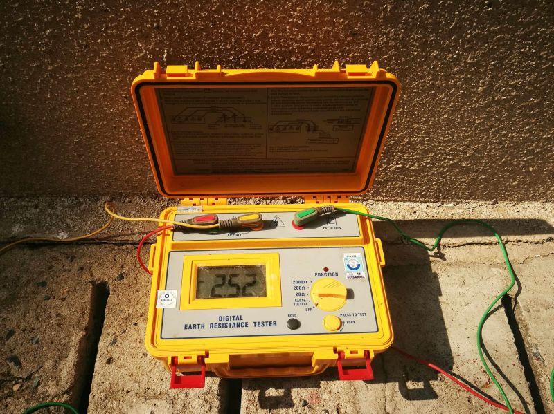 kiểm định hệ thống chống set - đo điện trở nối đất