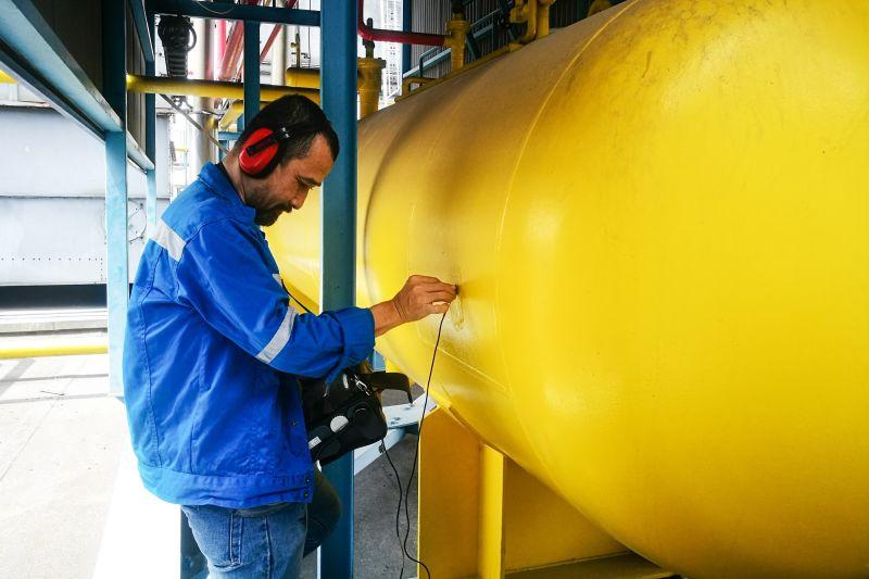 kiểm định hệ thống lạnh siêu âm bình chứa cao áp