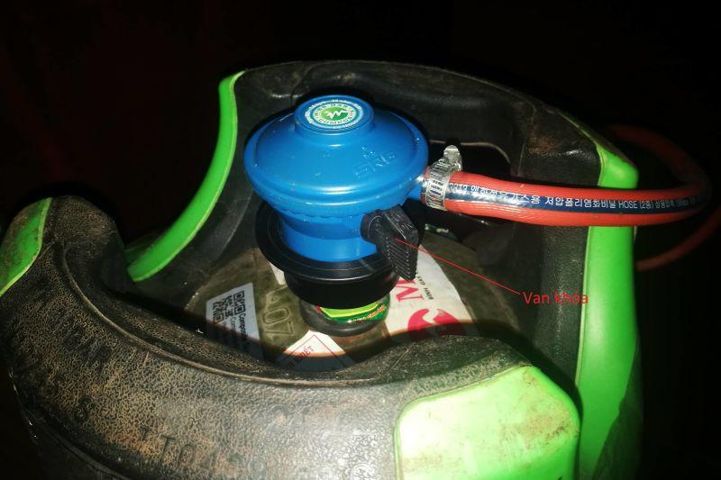an toàn khi sử dụng bếp gas trong gia đình