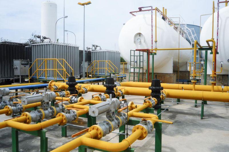 lắp đặt hệ thống gas công nghiệp sử dụng bồn chứa