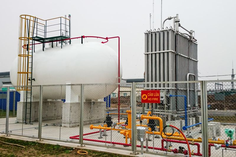 Kho chứa LPG
