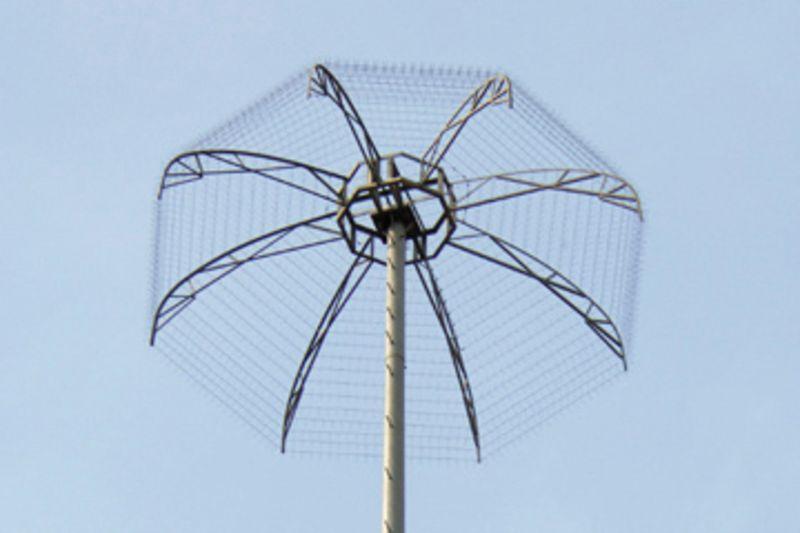 hệ thống chống sét đánh thẳng với kim thu sét phát tán điện tích