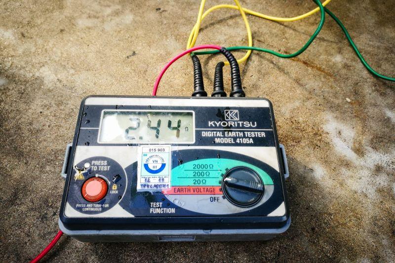 Đo điện trở hệ thống nối đất, tiếp địa