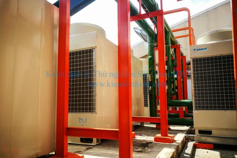 Kiểm định kỹ thuật an toàn hệ thống lạnh, hệ thống điều hòa không khí trung tâm