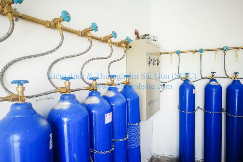 Kiểm định kỹ thuật an toàn hệ thống cung cấp khí y tế