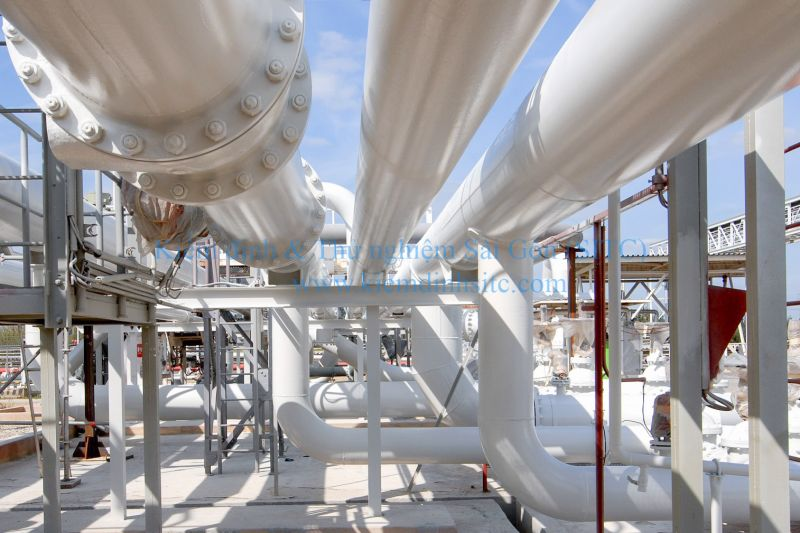 Kiểm định hệ thống đường ống dẫn khí đốt
