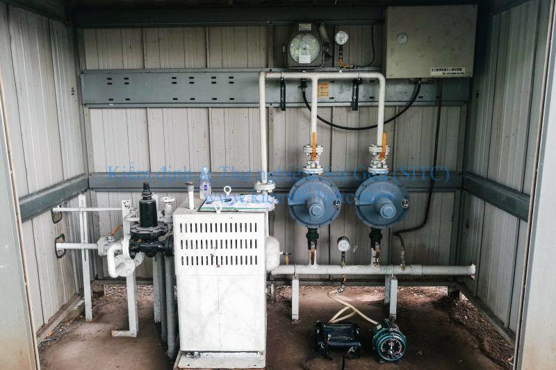 Kiểm tra rò rỉ hệ thống cung cấp khí đốt LPG