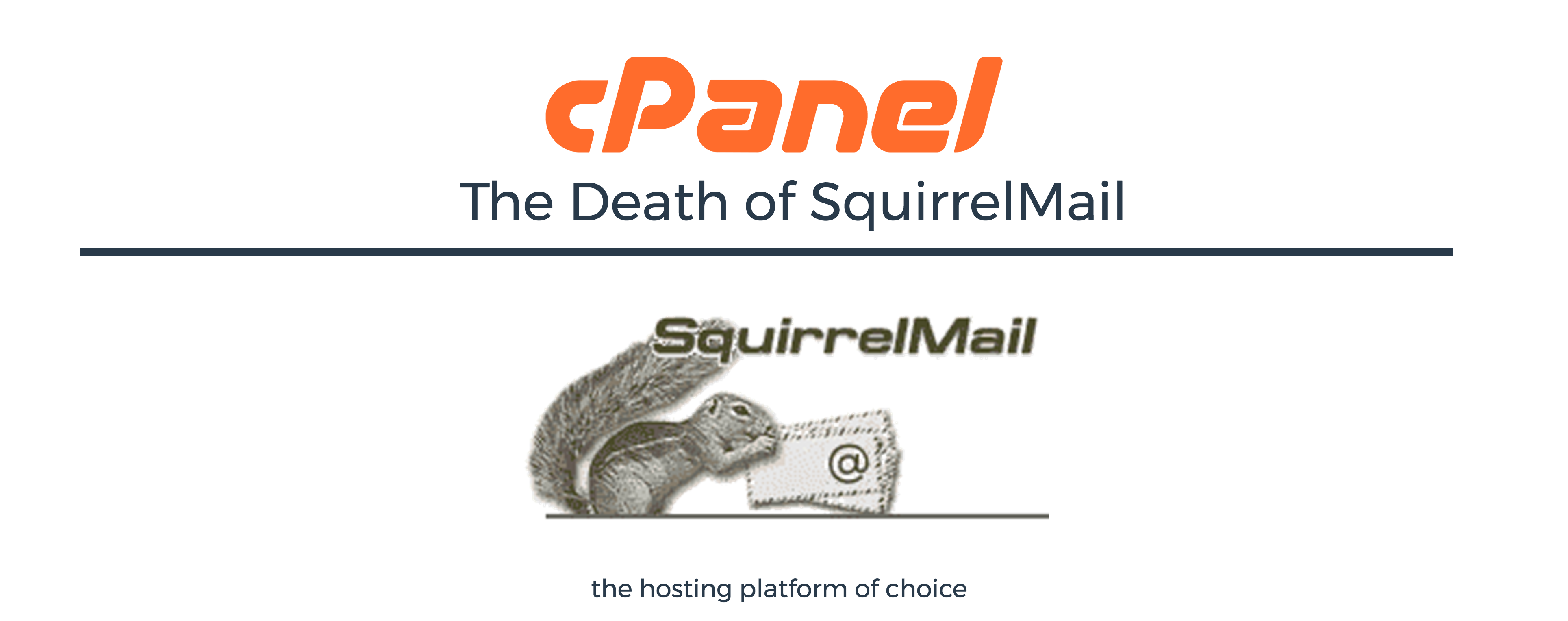 SquirrelMail Discontinuation