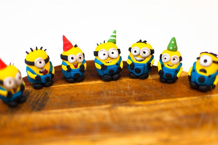Despicable Me Minion Cupcakes