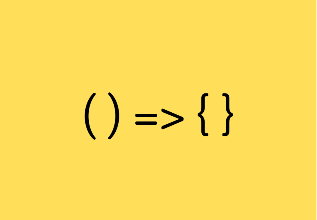 How to use arrow functions in JavaScript. cover image