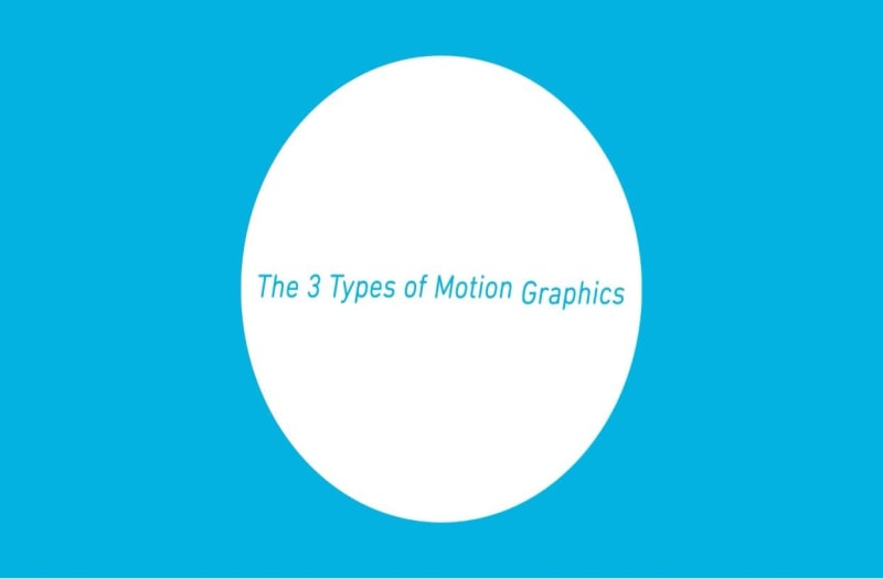 3 types of motion graphics ebook cover
