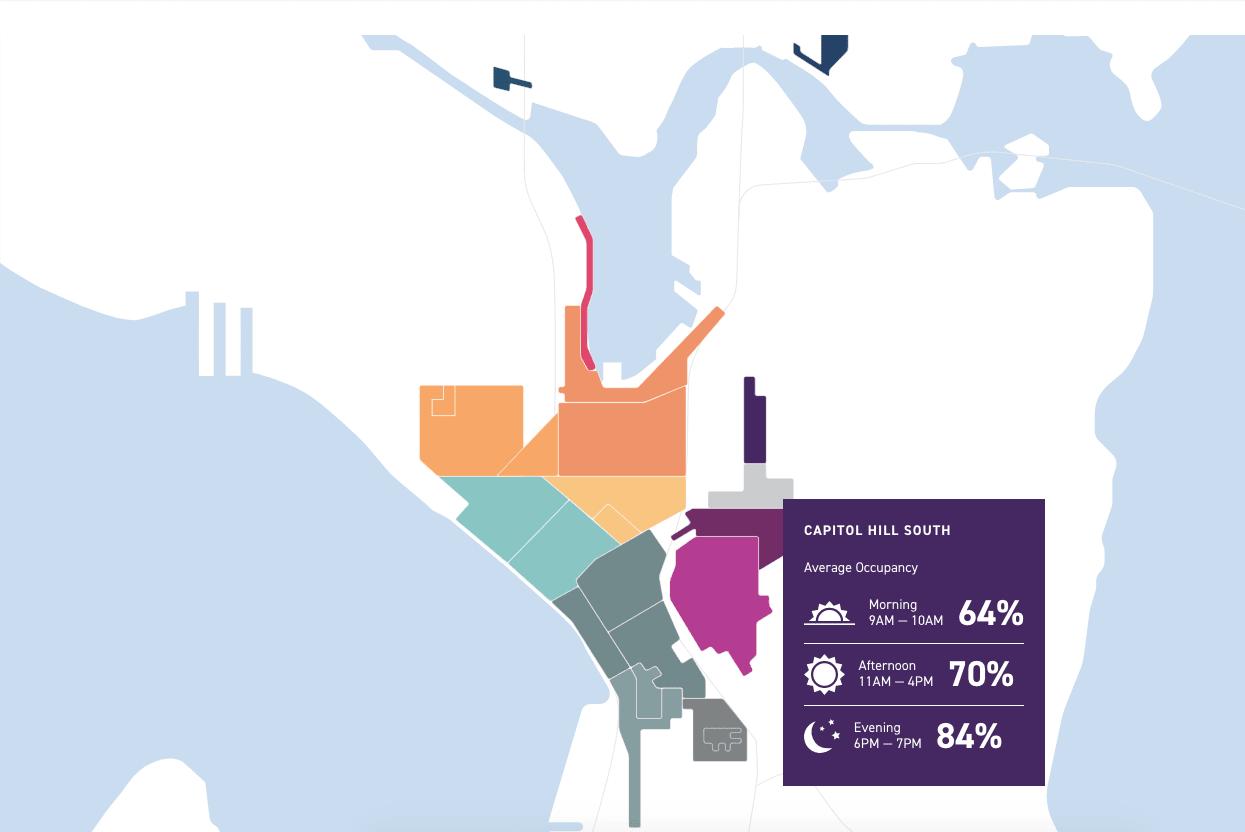 Seattle Department of Transportation Parking Visualization