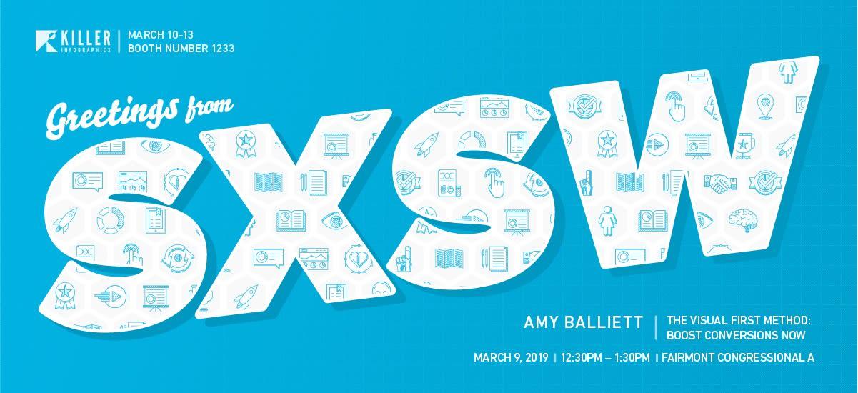 Killer Infographics SXSW announcement header