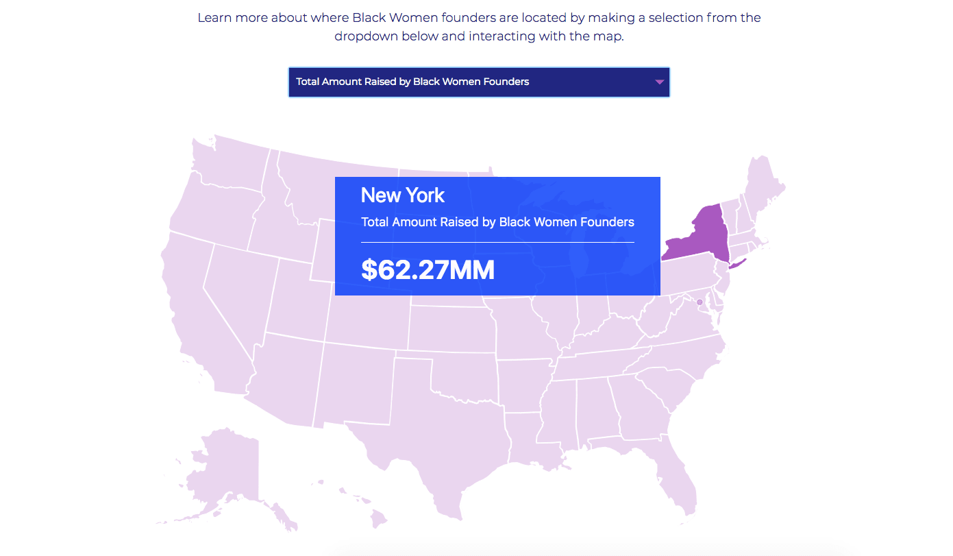 Interactive map of the US