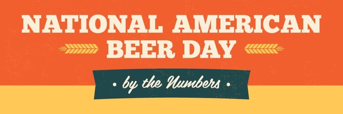 National American Beer Day Header Killer Infographics