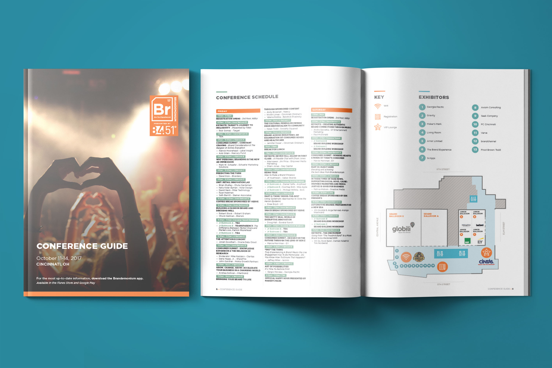 Brandemonium 2017 Conference Booklet/Program Design for Event