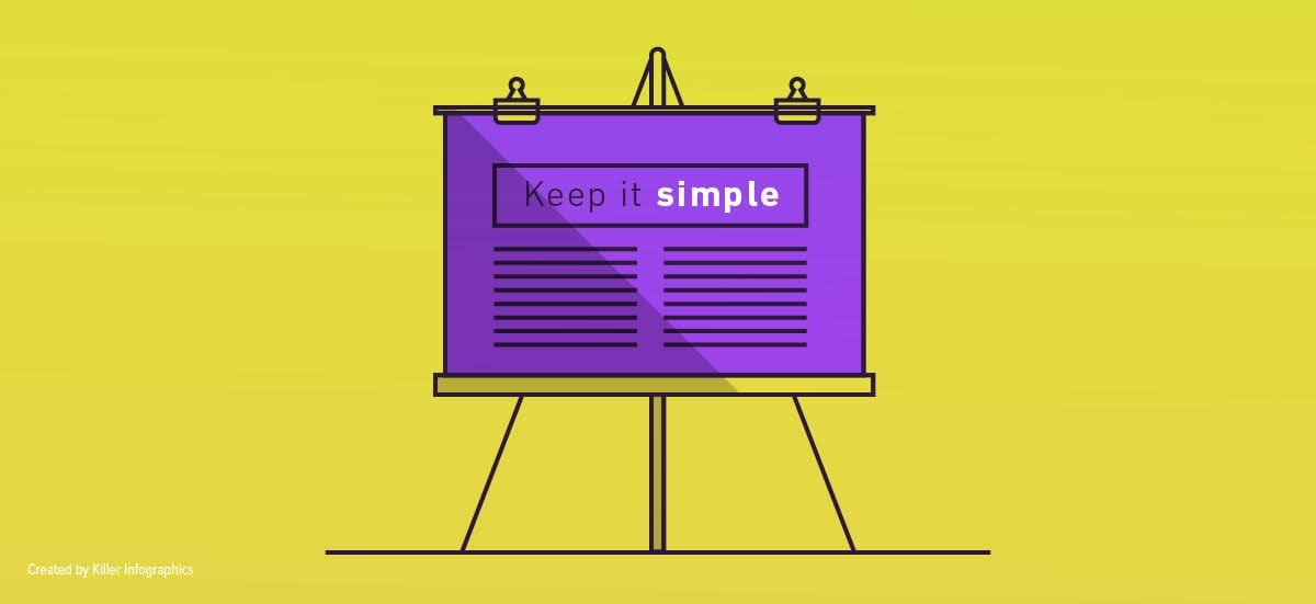 visual strategy simple design