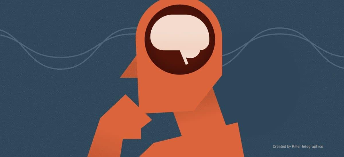 Science of memory header Killer Infographics