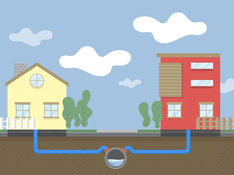 REHAU Visual Campaign Construction infographics and spot illustrations