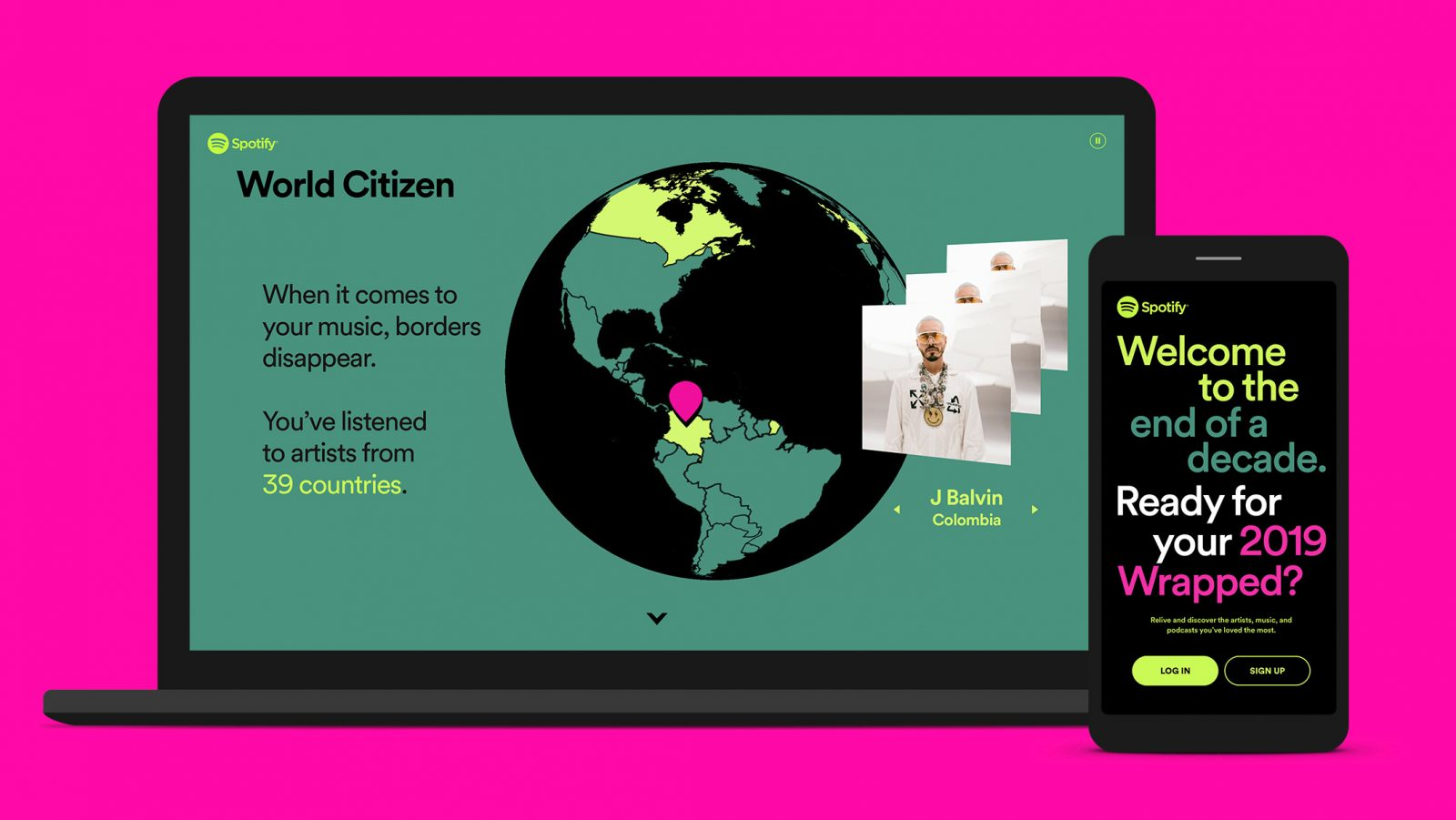 Spotify blog post infographic and illustration example