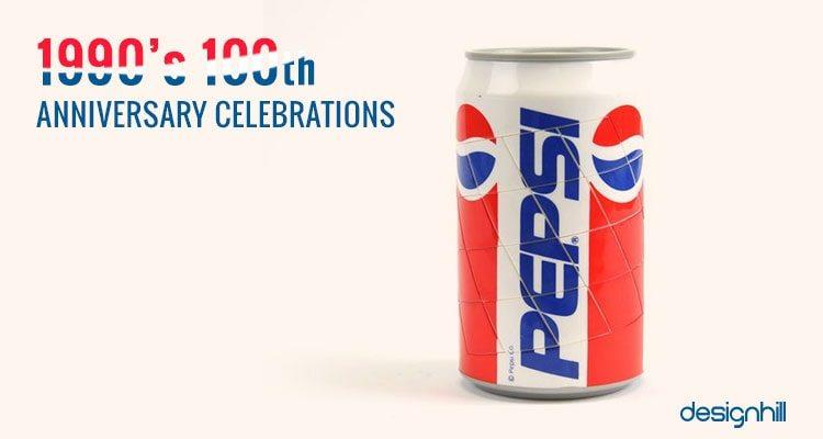 1990s Pepsi can brand identity example