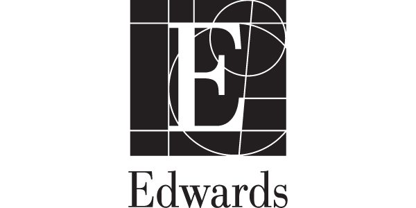 Edwards healthcare biosciences company marketing logo