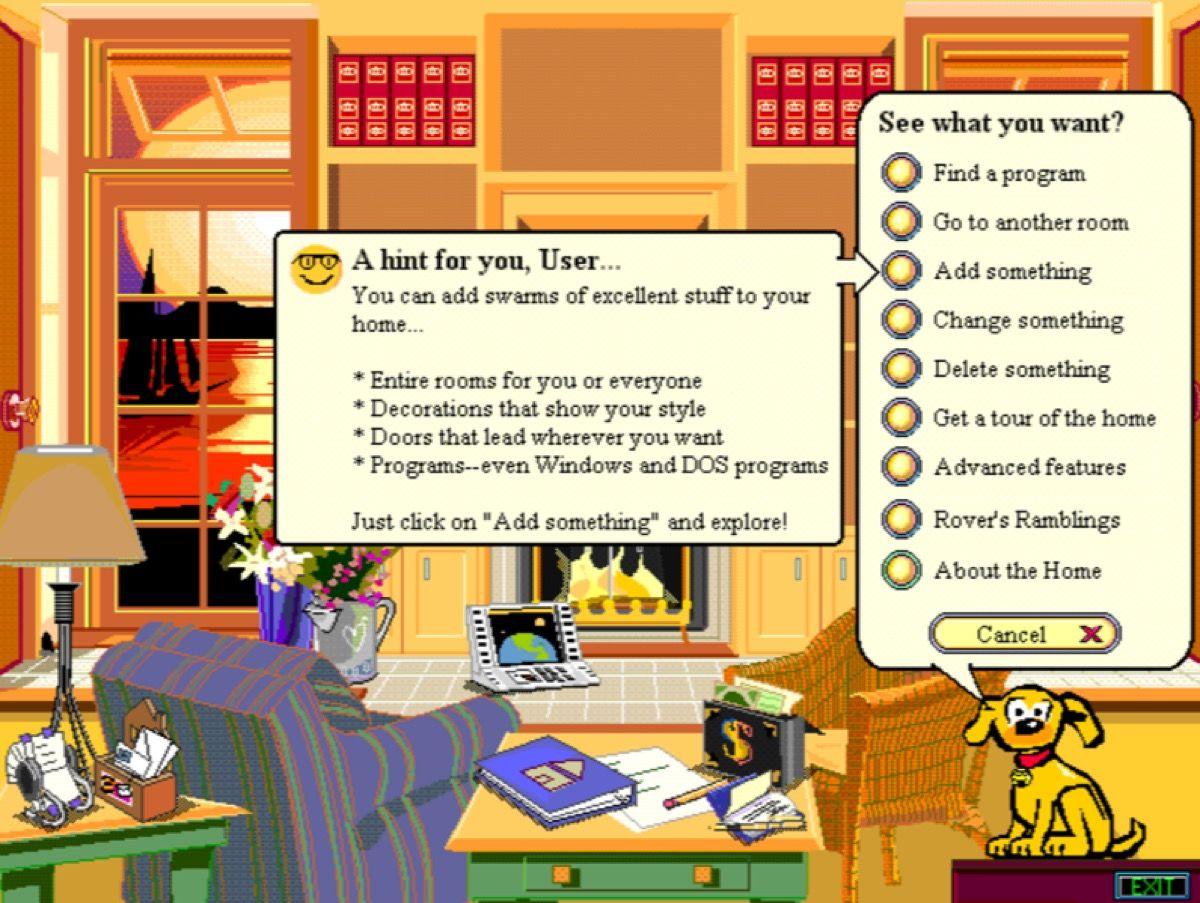 Microsoft Bob graphic