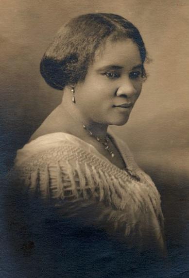 Madam C. J. Walker, Founder of the Madam C. J. Walker Manufacturing Company