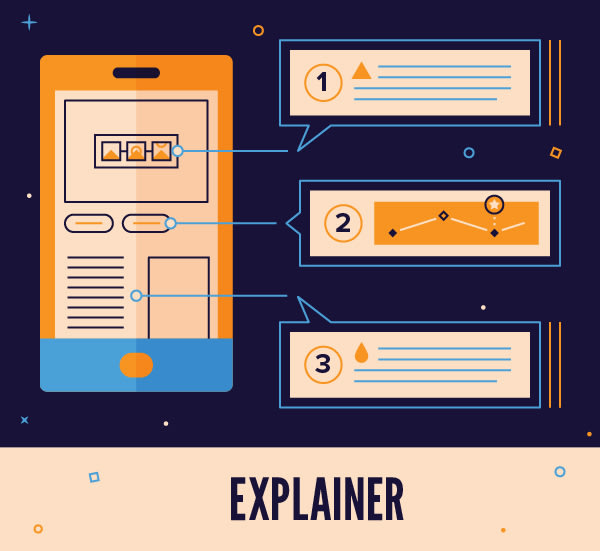 Explainer Motion Graphics and Videos icon