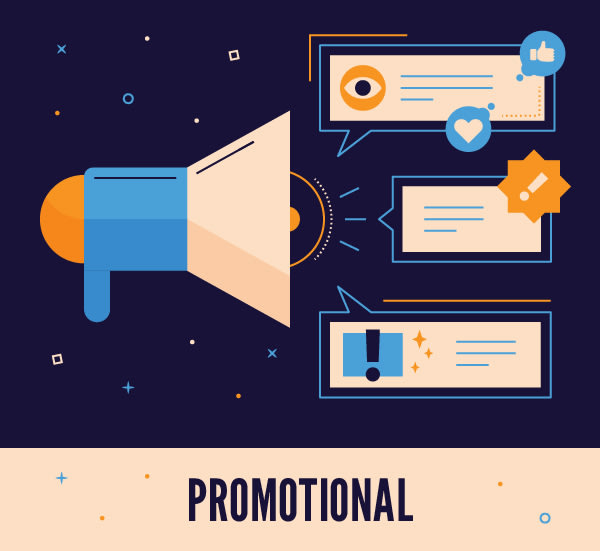 Promotional Motion Graphics and Videos icon
