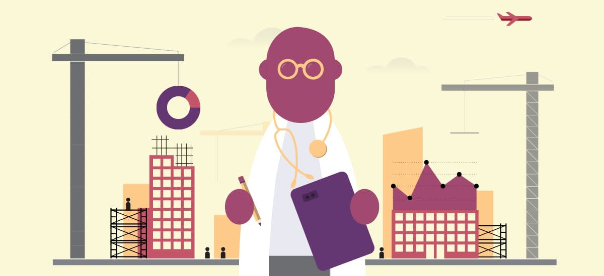 Data Visualization in Health Industry