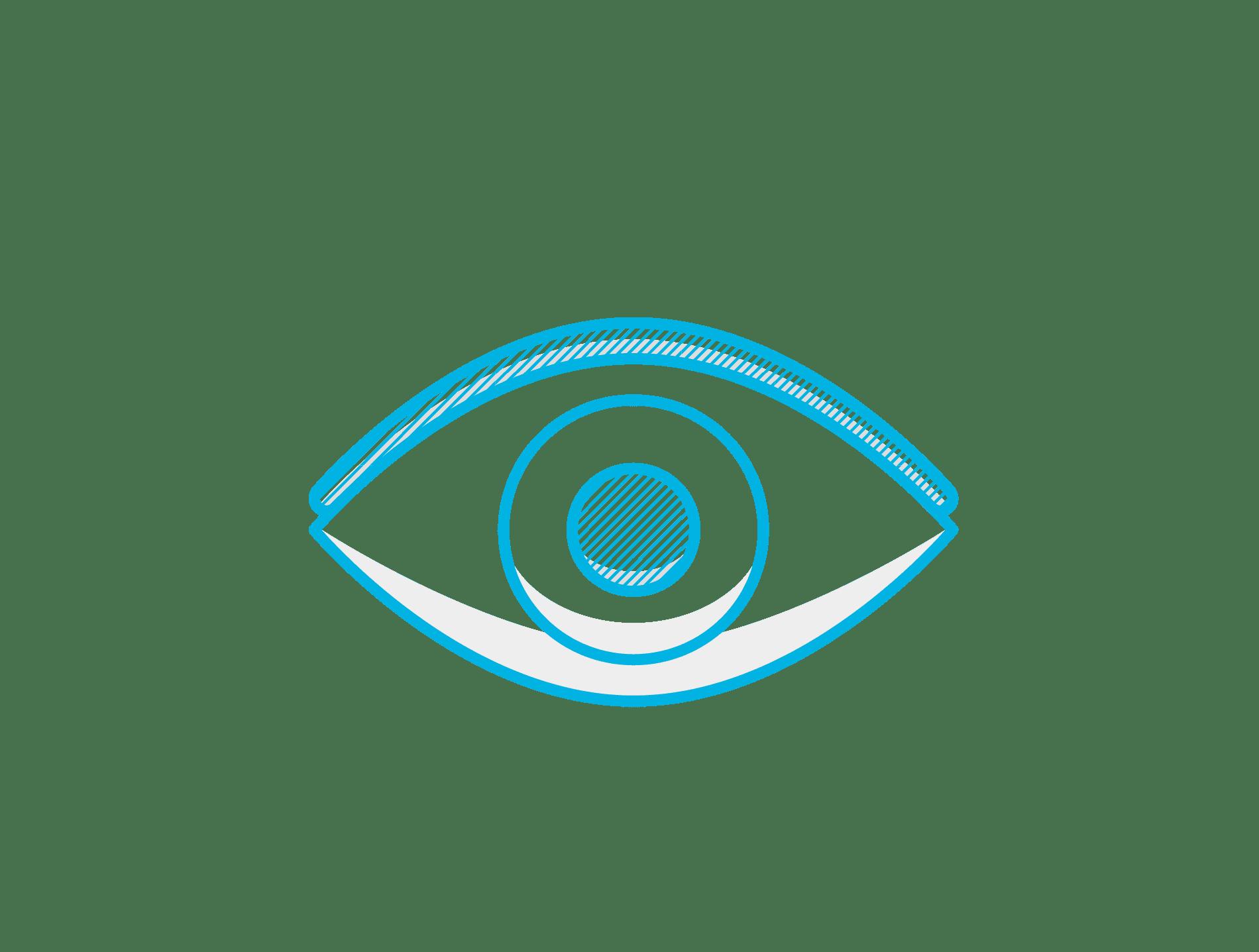 An icon describing brand identity for digital marketing campaign design