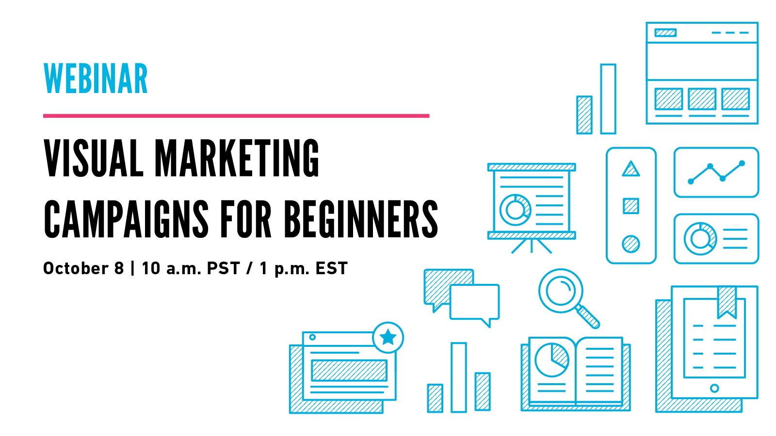 title image for visual campaigns for beginners webinar