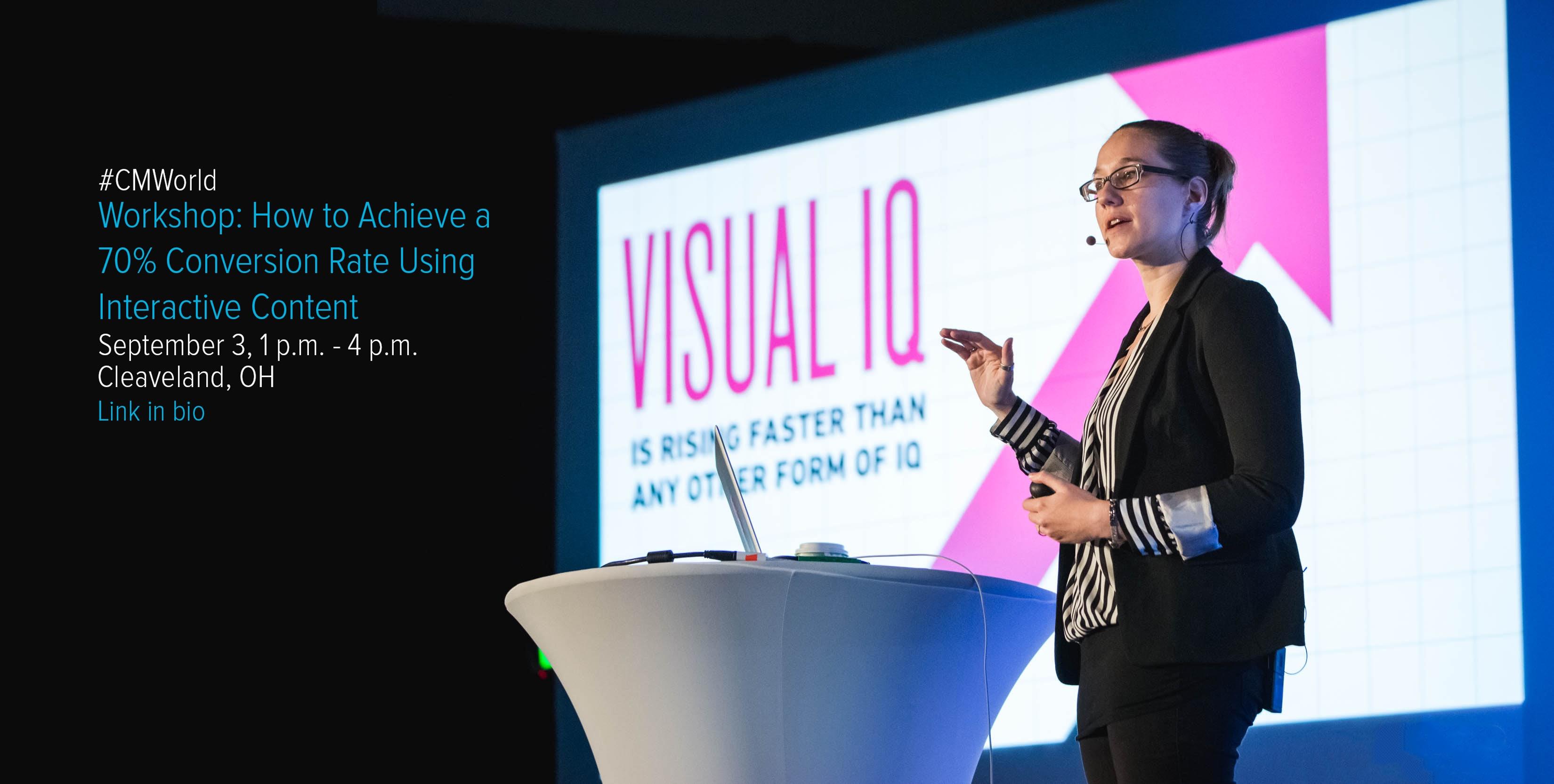 CMW speaker Amy Balliett on interactive infographics