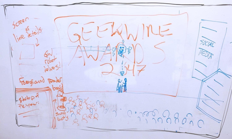 GeekWire Awards scene