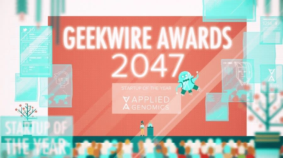 GeekWire Awards scene