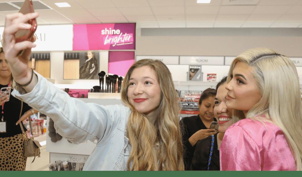 Kylie Cosmetics brand photo