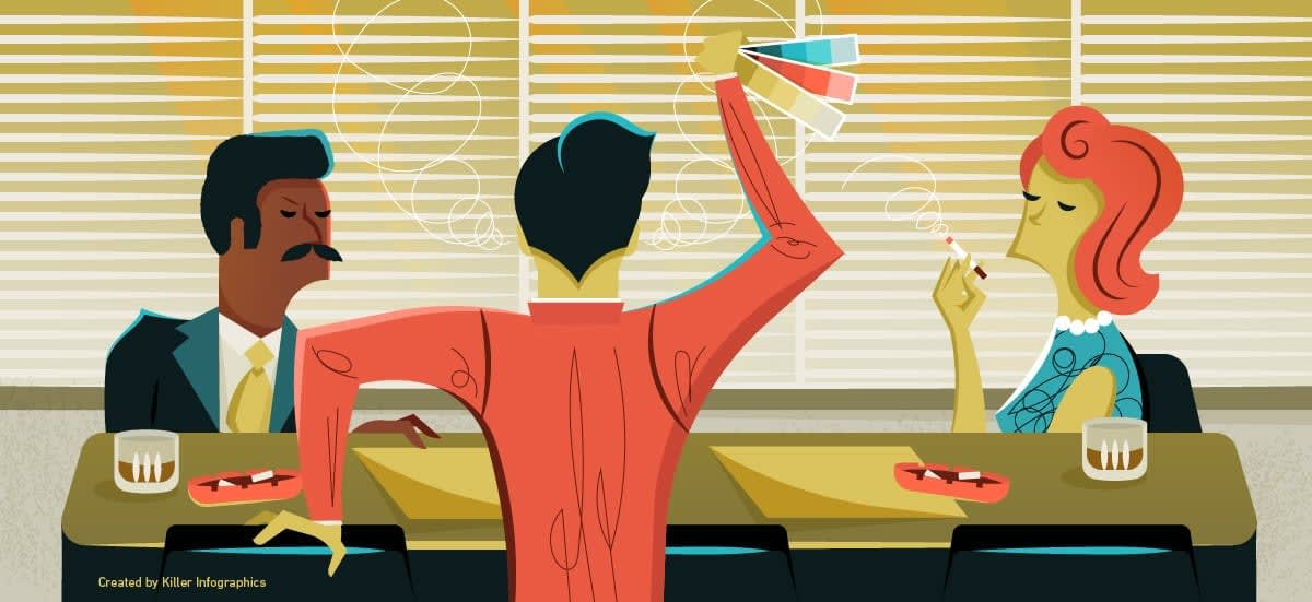 What designers do header