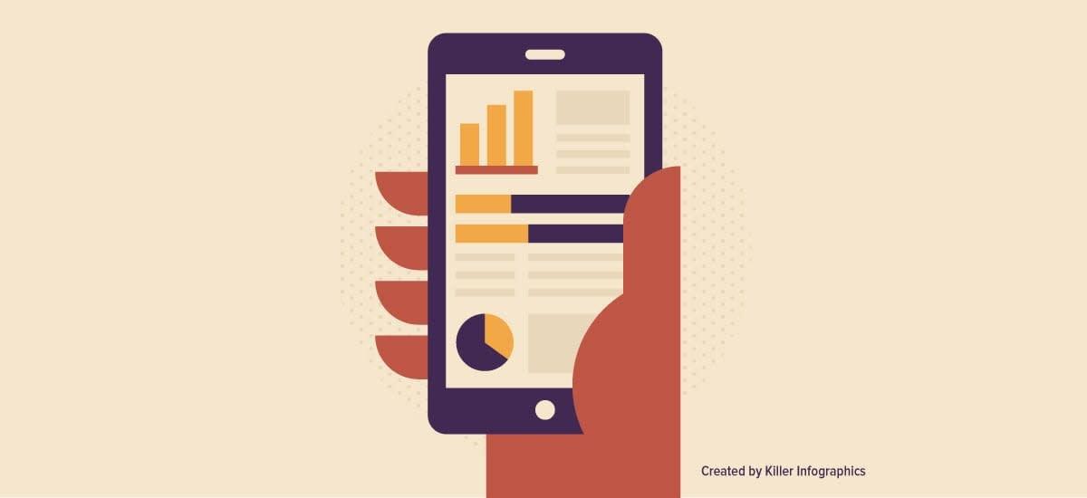 visual communication for mobile header