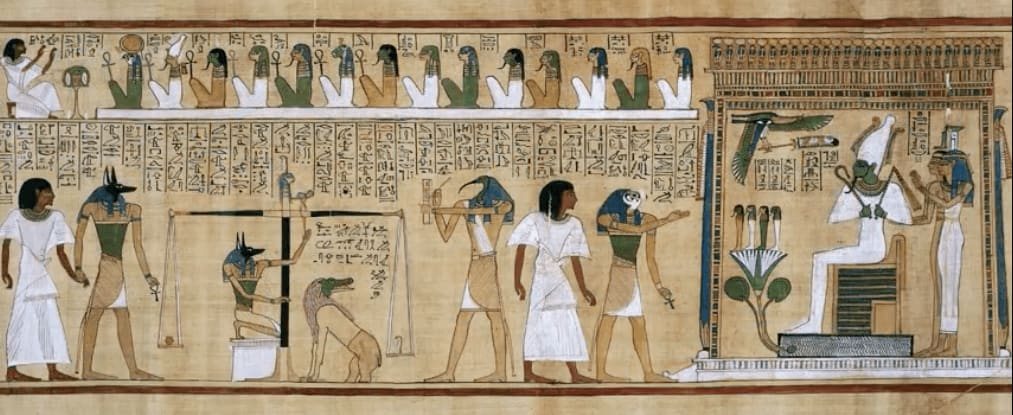 Egypt Book of the Dead Visual Storytelling