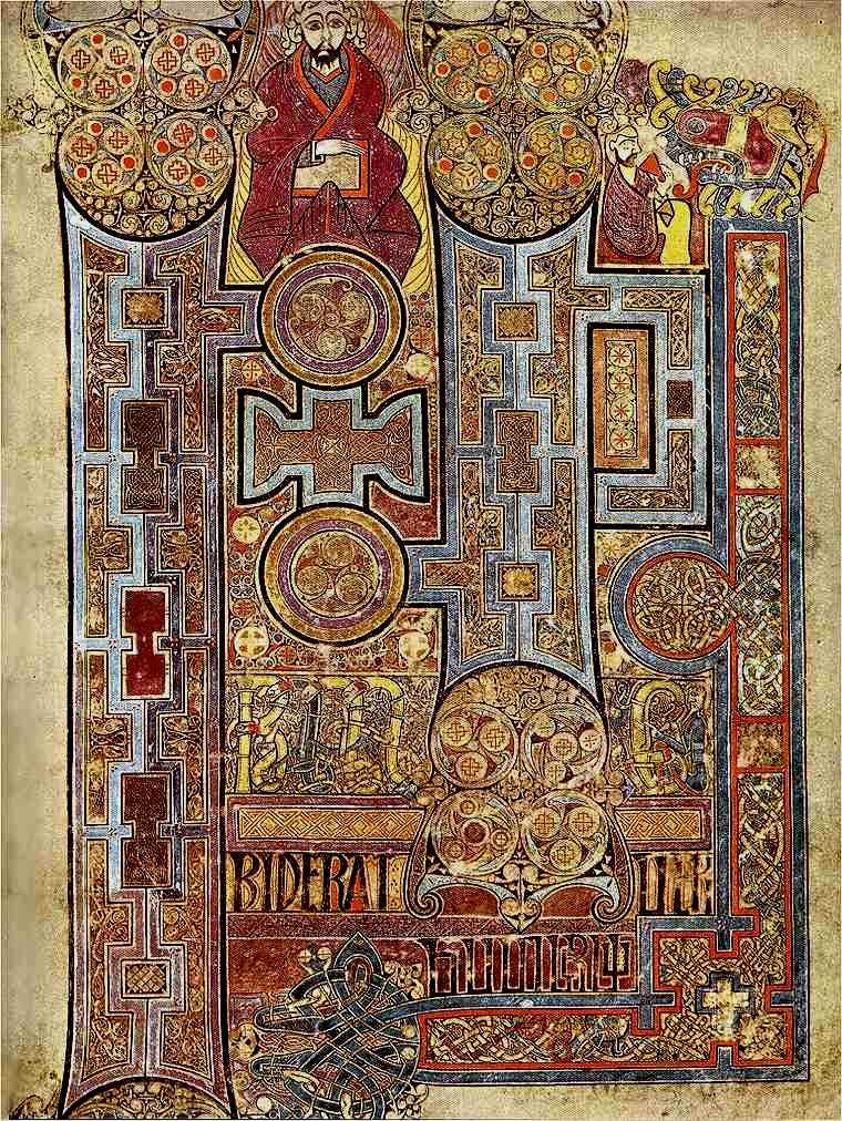 Book of Kells visual storytelling