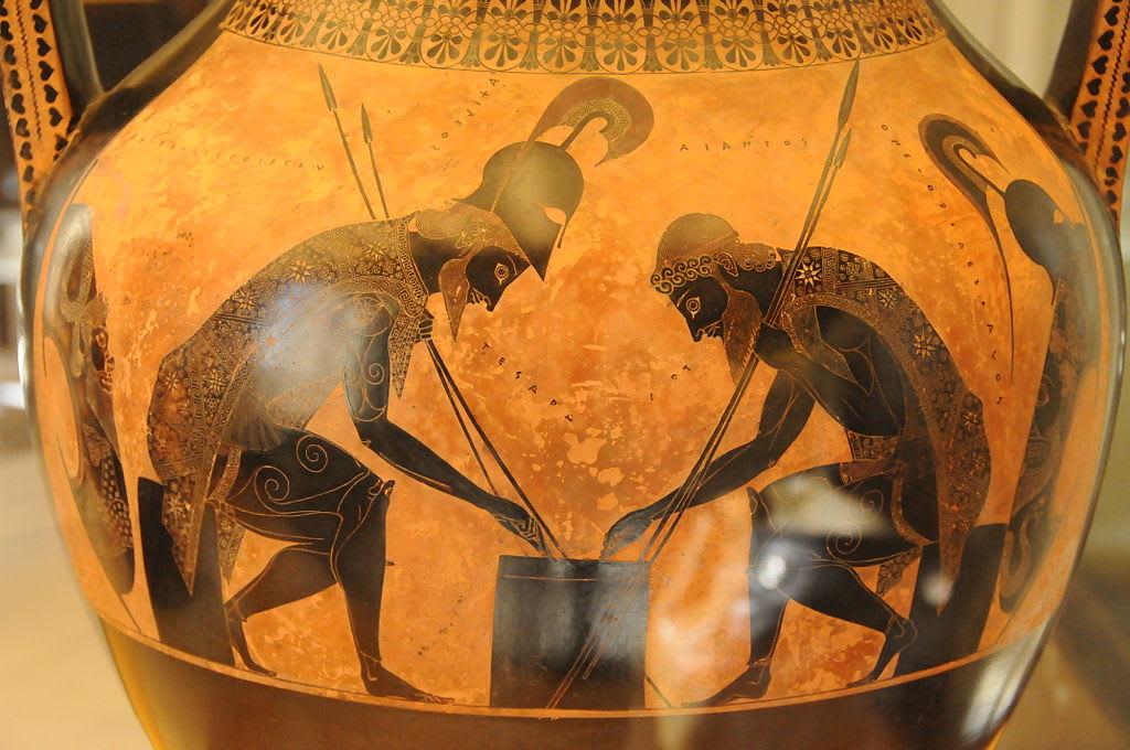 Greek vase visual storytelling