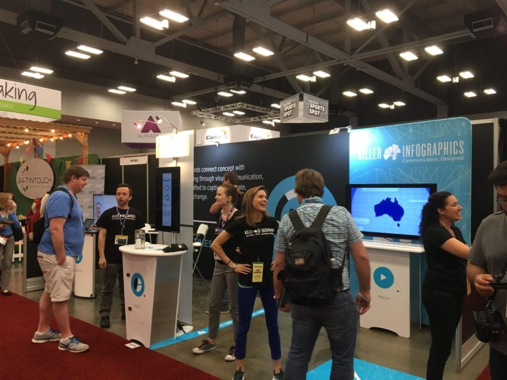 SXSW 2016 booth