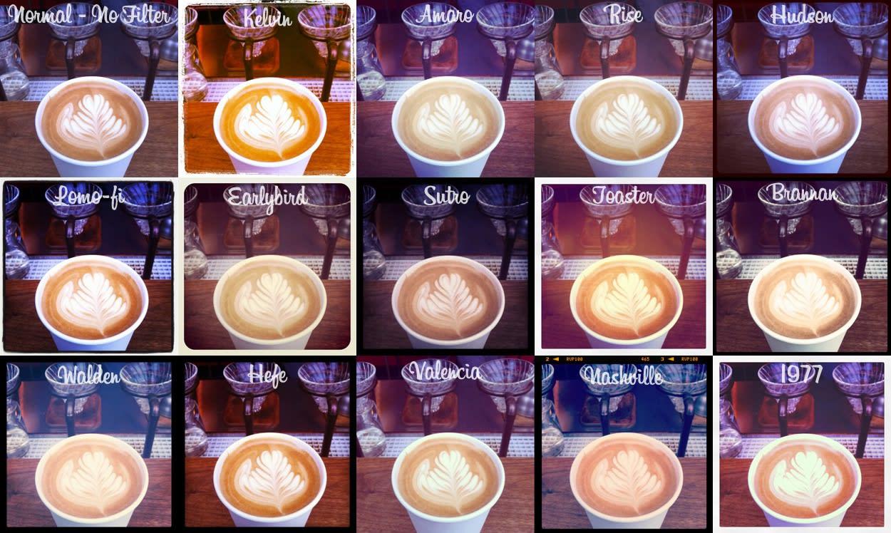 Instagram Filters visual communication