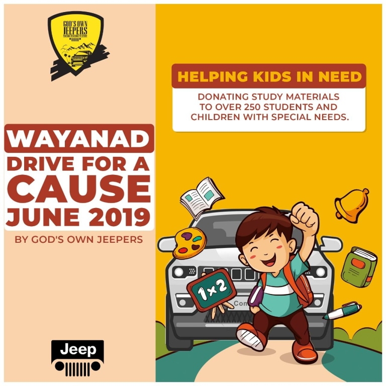 Waynad Drive for a Cause