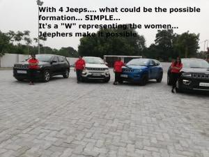 Bangalore Jeep Club JeepHers Ladies Trail