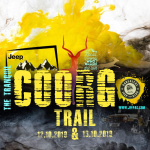 Bangalore Jeep Club tranquil trail to coorg